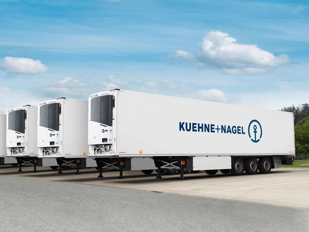 KN PharmaChain for road transport — Pharma and Healthcare Logistics